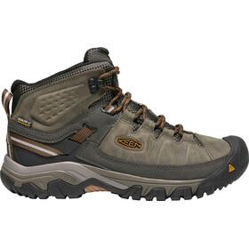 Keen Targhee III Mid WP Shoes Men Black Olive/Golden Brown